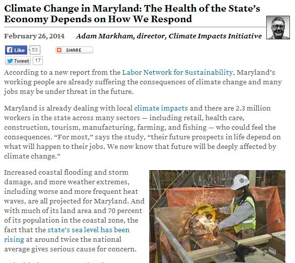 climate change in maryland image
